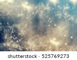 Magic Holiday Abstract Glitter...