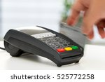 credit card machine  payment... | Shutterstock . vector #525772258