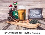 christmas beer  | Shutterstock . vector #525776119
