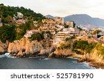 the rock la quebrada  one of... | Shutterstock . vector #525781990