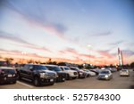 blurred exterior view of modern ... | Shutterstock . vector #525784300