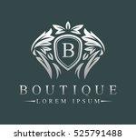 luxury  heraldic  royal ...   Shutterstock .eps vector #525791488