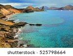 Coastline Of Bartolome Island...