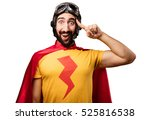crazy super hero idea sign | Shutterstock . vector #525816538