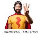 crazy super hero numbers sign | Shutterstock . vector #525817504