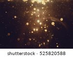 gold abstract bokeh background | Shutterstock . vector #525820588