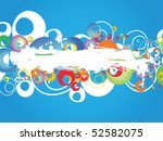 abstract colorful background.... | Shutterstock .eps vector #52582075