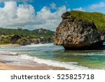 The Big Rock In Barbados In Th...