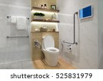 interior of bathroom for the... | Shutterstock . vector #525831979