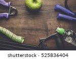 different street workout...   Shutterstock . vector #525836404