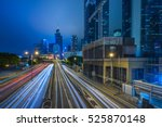Traffic Light Trails In...