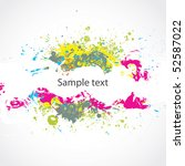 abstract colorful background.... | Shutterstock .eps vector #52587022