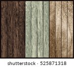 set of  wood texture. vector | Shutterstock .eps vector #525871318