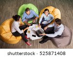business people discussing... | Shutterstock . vector #525871408