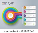 infographic design vector and... | Shutterstock .eps vector #525872863