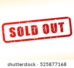 illustration of sold out stamp...   Shutterstock .eps vector #525877168