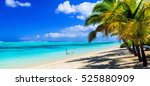 perfect tropical holidays  ... | Shutterstock . vector #525880909