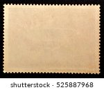 old posted stamp reverse  side... | Shutterstock . vector #525887968