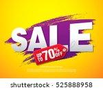 sale banner template design | Shutterstock .eps vector #525888958