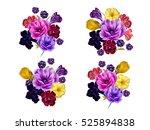 Watercolor  Bouquets....