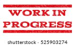 work in progress watermark... | Shutterstock .eps vector #525903274