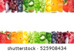 color fruits and vegetables....   Shutterstock . vector #525908434