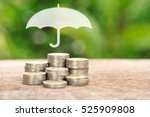 coverage  insurance or... | Shutterstock . vector #525909808