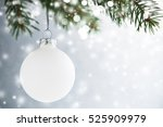 White Decorative Ball On The...