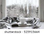Cozy Winter Still Life  Cup Of...