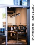 interior of small retail stores ... | Shutterstock . vector #525916360