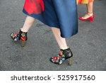 paris october 5  2015. paris...   Shutterstock . vector #525917560