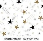 festive cute seamless pattern... | Shutterstock .eps vector #525924493