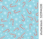 Christmas Seamless Blue Patter...