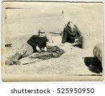 ussr   circa 1980s  an antique... | Shutterstock . vector #525950950