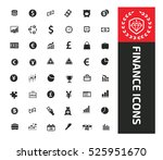 finance icons design clean... | Shutterstock .eps vector #525951670