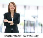 modern business woman in the... | Shutterstock . vector #525953239