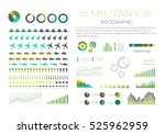 military infographic elements...   Shutterstock .eps vector #525962959