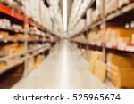blurred of warehouse or... | Shutterstock . vector #525965674
