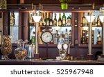 dark brown top of bar and free... | Shutterstock . vector #525967948