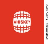 the whiskey icon. cask and keg  ...