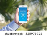 regulations concept on screen | Shutterstock . vector #525979726