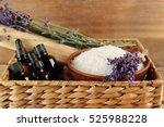 Spa Concept. Lavender  Aroma...
