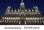 Grand Place In Brussels At...