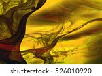 abstract fantasy intertwined... | Shutterstock . vector #526010920