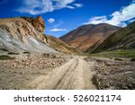 Dirt Gravel Mountain Road...