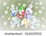 Merry Christmas Snow Man Santa...