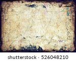 Stock photo grunge paper wall texture 526048210