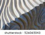 abstract sculpture background... | Shutterstock . vector #526065043