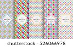bright colorful seamless... | Shutterstock .eps vector #526066978
