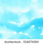 blue white bright cold color...   Shutterstock . vector #526074304